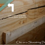 Chic Shoestring Decorating How Make Upholstered Headboard