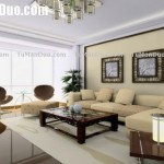 China Style Living Room Design Layout Sofa Decor