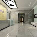 Chinese Company Entrance Interior Design House Free