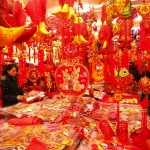 Chinese New Year Home Decorations Papercuts Lanterns Festivities