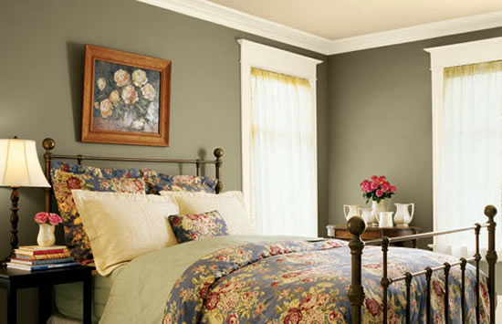 Choose Bedroom Wall Paint Colors More About Color
