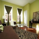 Choose Your Living Room Paint Color Ideas Red White Black Painting