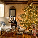 Christmas Decorated Living Rooms Room