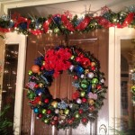 Christmas Front Door Decor Holidays