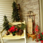 Christmas Front Porch Outdoor Decoration