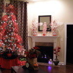 Christmas Holiday Living Rooms Design