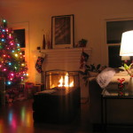 Christmas Living Room Decorating For