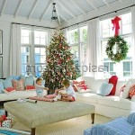 Christmas Luxury Living Room Decorating Ideas New Home