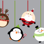 Christmas Ornament Wall Decals Weedecor