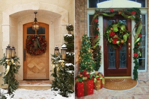 Christmas Porch Decorating Ideas For