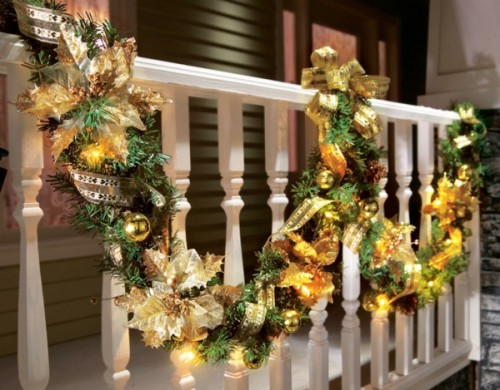 Christmas Spirit Inspiring Outdoor Decor Amazing Home Design