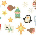Christmas Stickers Advent Fun See