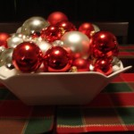 Christmas Table Decorations Picture