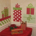 Christmas Wall Decals Holiday Red And Green