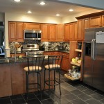 Cinnamon Kitchen Open Floor Plan And Large Island Cultivate
