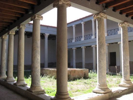 City Roman House Atrium Casa Romana Which Means The