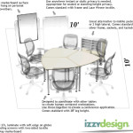 Clara Conference Table Room Izzydesign
