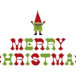Classic Merry Christmas Wall Decal And Sticker Weedecor