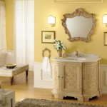 Classic Yellow Bathroom Decor Ideas And Furniture Pictures