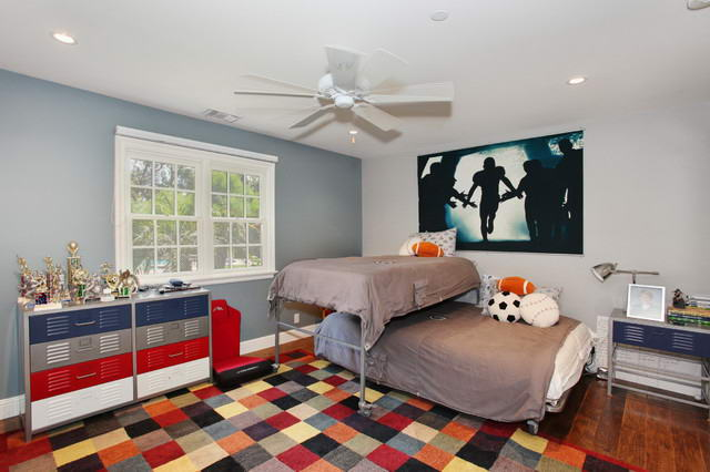Classical Pictures Decorating Ideas For Boys Bedrooms Sports