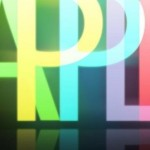 Click Apple Neon Color Sign Facebook Timeline Cover