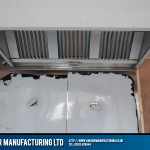 Close View Our Sheffield Stainless Steel Kitchen Canopy And