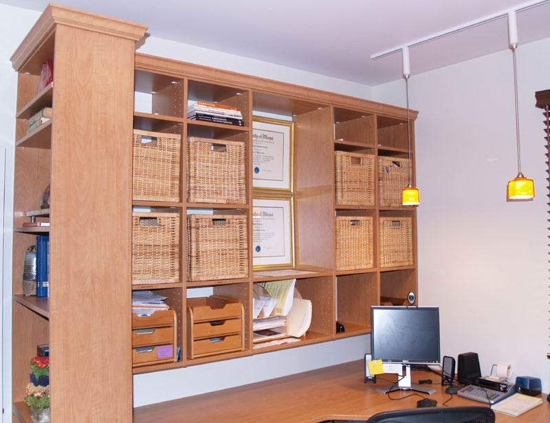 Closet Engineers Office Custom Organizers