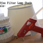 Coffee Filter Lamp Shade Supplies Your Liking