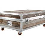 Coffee Table Trunk Size