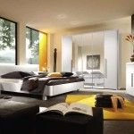Color Bedroom Interior Design White Yellow Daily