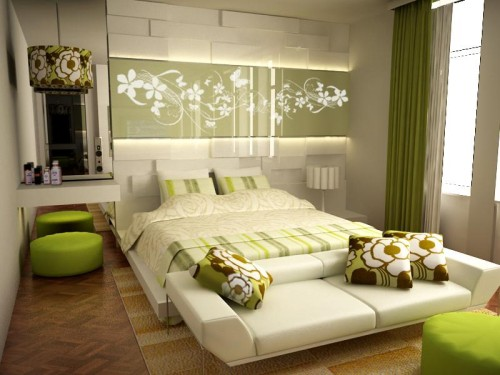 Color Bedrooms Interior Design Ideas