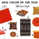 Color The Year African Style Ethnic Design Decor