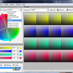 Color Wheel Rotate The Scheme Around Click And