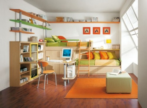 Colorful And Playful Design Ideas For Bedroom