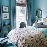 Colorful Bedroom Decor Blue And Brown Interior Design