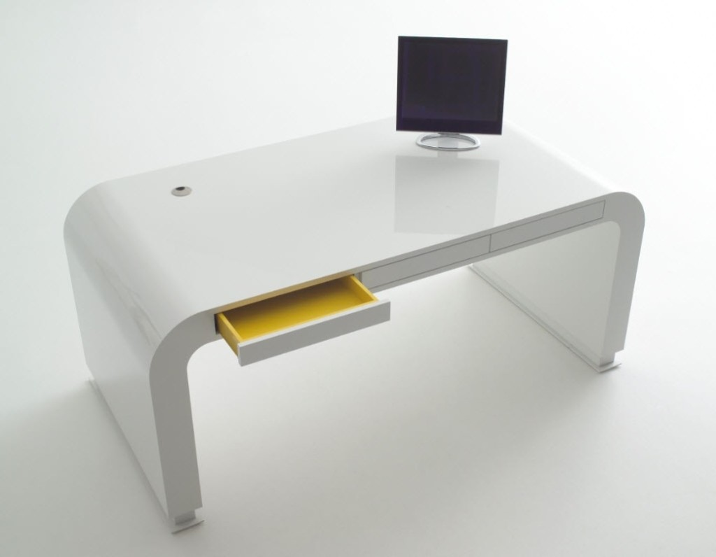 Colorful Minimalist Computer Desk Design And Remodeling Ideas