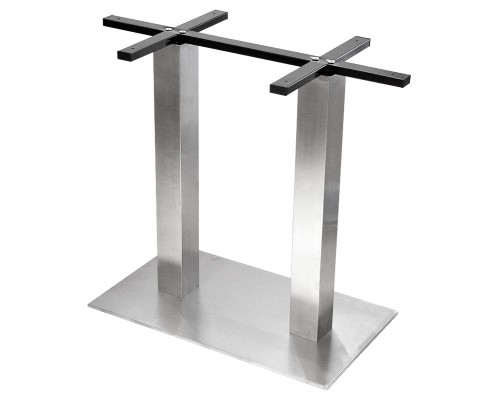 Column Table Base Contract Stainless Steel