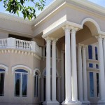 Columns Pre Cast Fluted Corinthian Window Embellishments