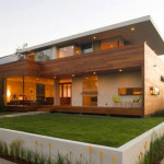 Combined Luxury House Design Wooden Materials From Assembledge