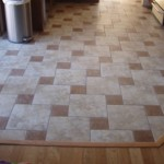 Combined Pattern For Kitchen Flooring Floor Tile
