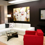 Combining Many Designs Combination Color Living Room Furniture Design