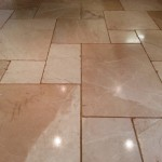 Comfortable Beautiful And Easy Clean Limestone Tile Flooring