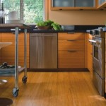 Comfortable Home Design Eco Friendly Bamboo Kitchen Floors