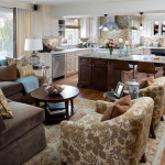 Comfortable Home Design Kitchen And Room