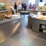 Commercial Simple Kitchen Flooring Narrow