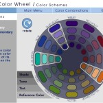 Complimentary Color Scheme Consists Colors From First