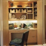 Concealed Closet Home Office Decorating Ideas