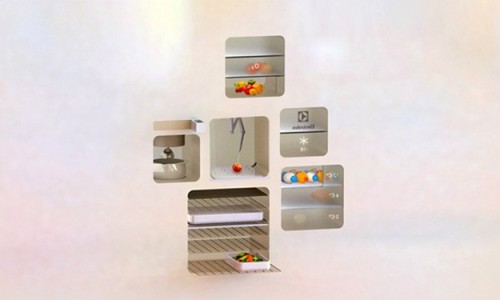 Concept Smart Kitchen Future Technology
