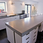 Concrete Kitchen Tops And Island Modern Countertops