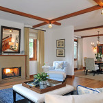 Contemporary Craftsman Style Living Room